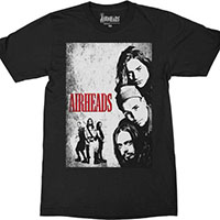 Airheads- Faces on a black shirt