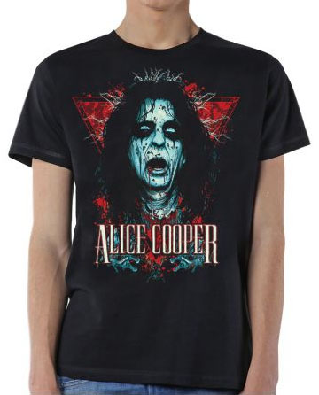 Alice Cooper- Decapitated on a black shirt