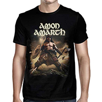 Amon Amarth- Berserker 2019 North American Tour on a black shirt