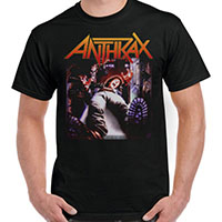 Anthrax- Spreading The Disease on a black shirt