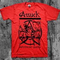 Assuck- Suffering Quota shirt (Various Color Ts)