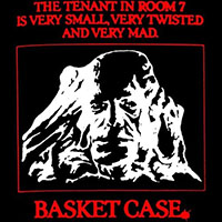 Basket Case- The Tenant In Room 7 on a black shirt