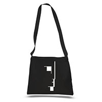 Bauhaus- Bela Lugoi's Dead on a black tote bag