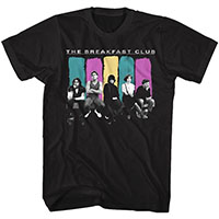 Breakfast Club- Cast on a black shirt