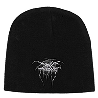 Darkthrone- Logo embroidered on a black beanie
