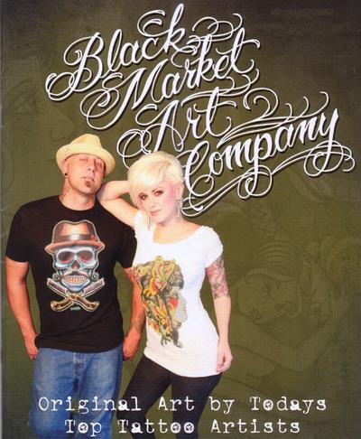 Black Market Art Company is a tattoo art company.