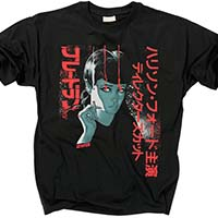 Blade Runner- Godmachine Art on a black shirt