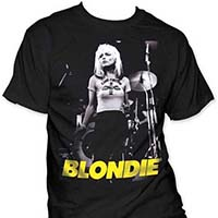 Blondie- On Stage on a black shirt