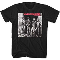 Bill & Teds Excellent Adventure- Rocket To Mars on a black ringspun cotton shirt