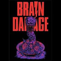 Brain Damage- Aylmer on a black shirt