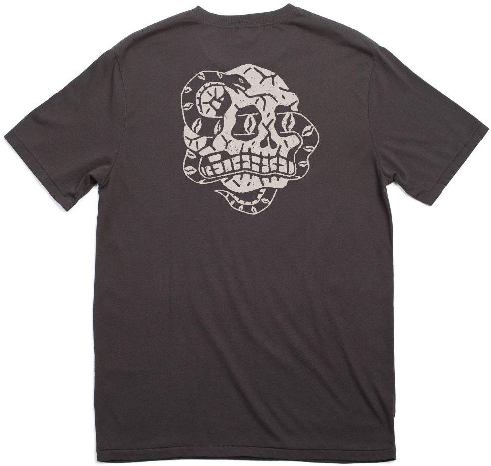 Boa Shirt by Brixton- WASHED BLACK