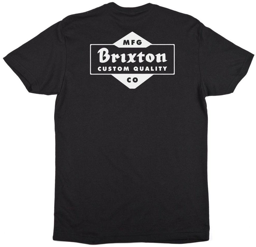 Crowich Shirt by Brixton- BLACK