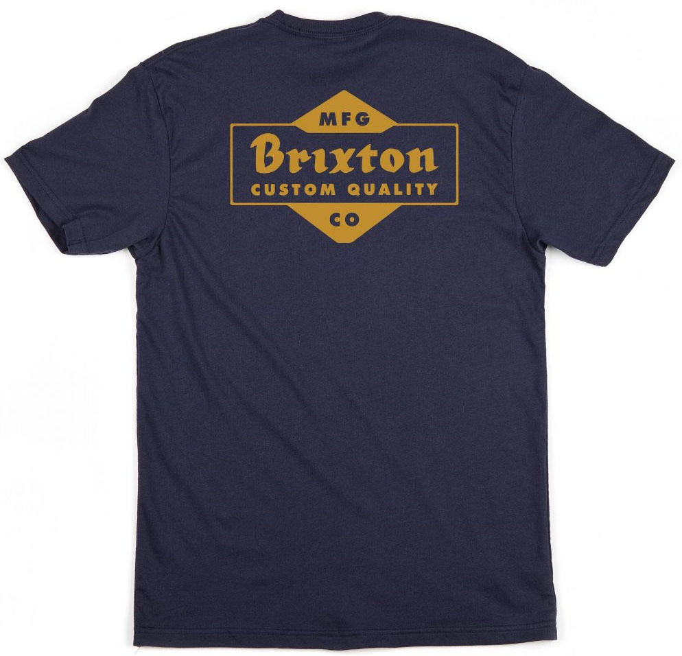 Crowich Shirt by Brixton- NAVY