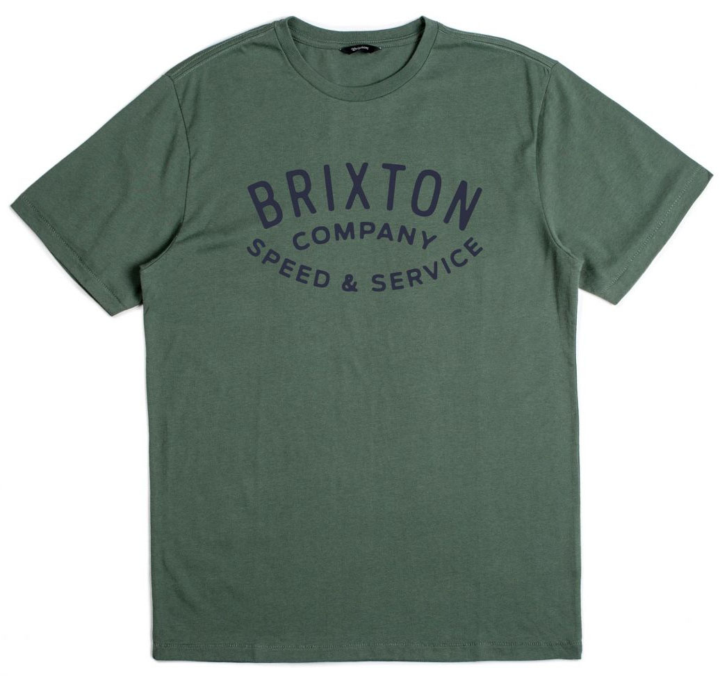 Gasket Premium Shirt by Brixton- Chive (Sale price!)