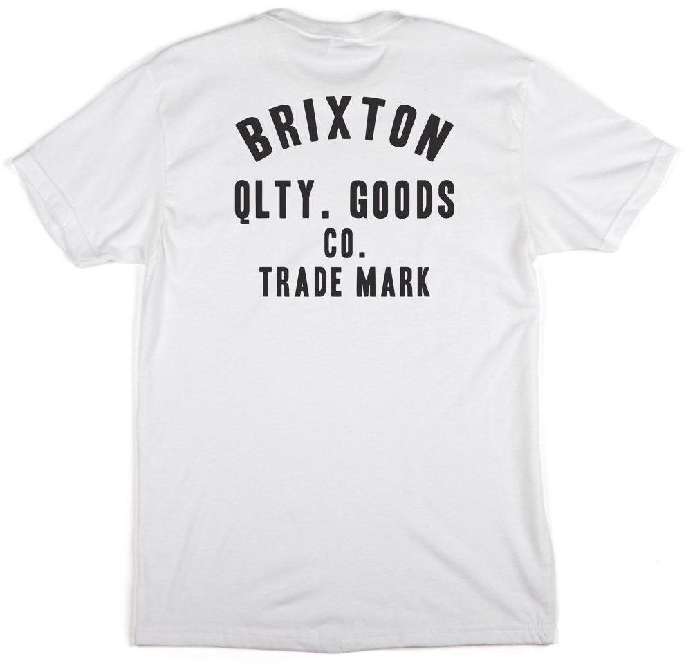 Woodburn Shirt by Brixton- WHITE (Sale price!)