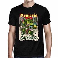 Brujeria- Satongo on a black shirt