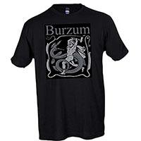 Burzum- Serpent Slayer on a black shirt