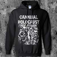 Cannibal Holocaust- Cannibals on a black hooded sweatshirt