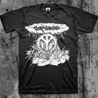 Carcass- Peace Bomb on a black shirt