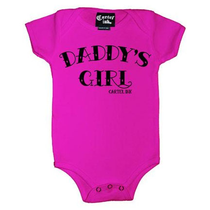 Daddy's Girl onesie by Cartel Ink