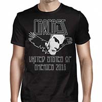 Carcass- USA 2016 on a black shirt