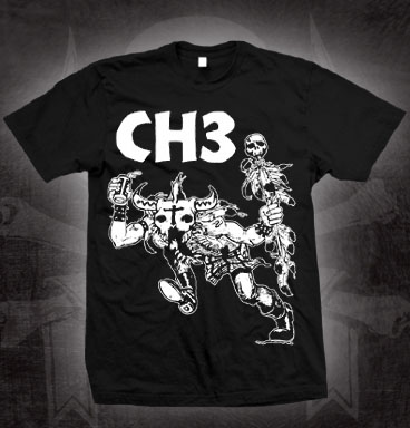 Channel 3- Indian Summer on a black shirt (Sale price!)