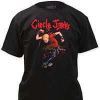 Circle Jerks- Skanker on a black shirt