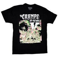 Cramps- Off The Bone on a black ringspun cotton shirt