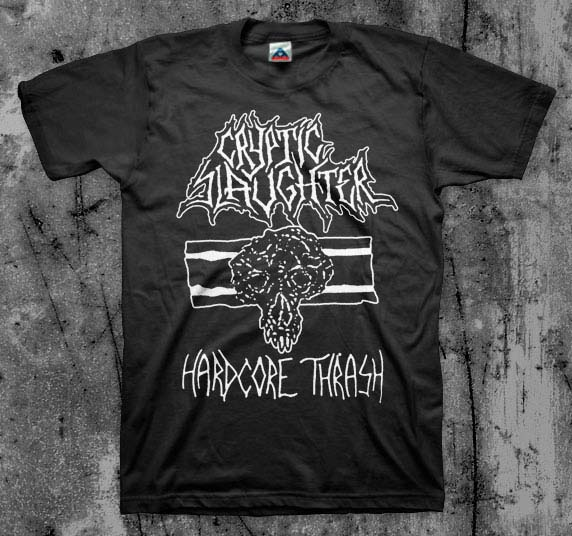 Cryptic Slaughter- Hardcore Thrash shirt (Various Color Ts)