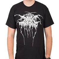 Darkthrone- Logo on a black shirt