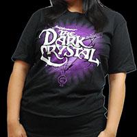Dark Crystal- Logo on a black ringspun cotton shirt