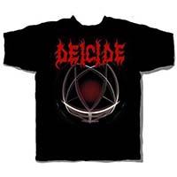Deicide- Legion on a black shirt