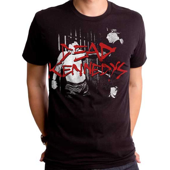 Dead Kennedys- Police Truck on a black ringspun cotton shirt by Goodie Two Sleeves