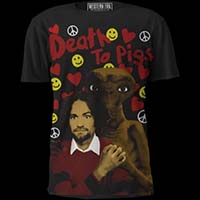 Death To Pigs Shirt by Western Evil