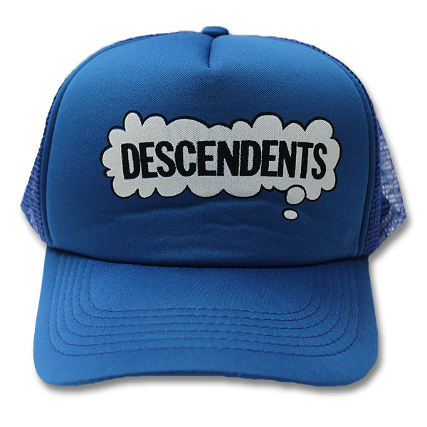 Descendents- Thought Bubble on a blue trucker hat