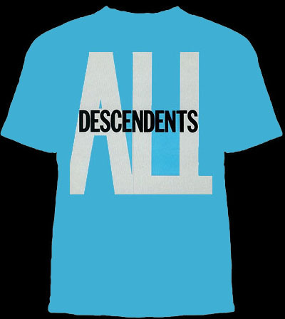 Descendents- All on a blue shirt