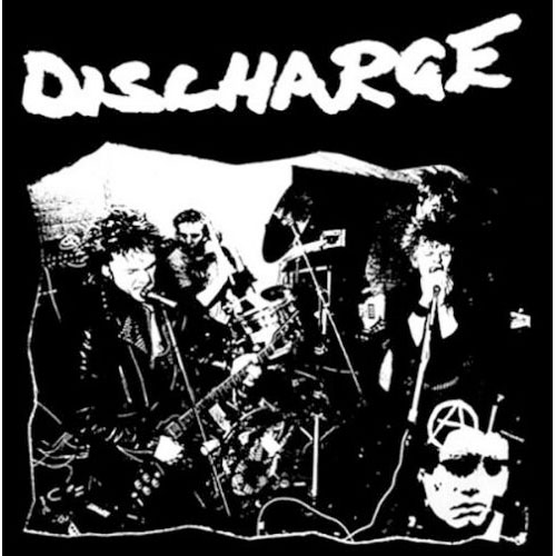 Discharge- Live on shirt (Sale price!)