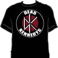 Dead Kennedys- Bricks Logo on a black ringspun cotton shirt