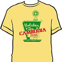 Dead Kennedys- Holiday In Cambodia on a banana ringspun cotton shirt