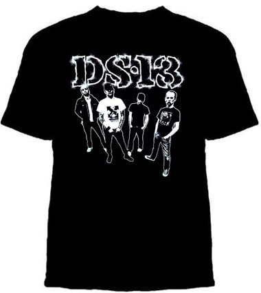 DS13- Band Pic on a black shirt (Sale price!)
