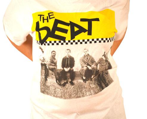Beat (English Beat)- Band Pic on a white shirt (Sale price!)