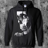 Evil Dead- Skull on a black hooded sweatshirt