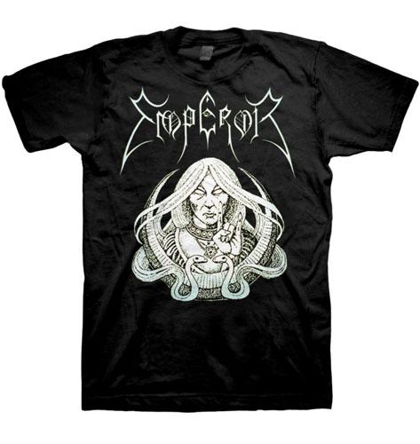 Emperor- Priestess on a black shirt