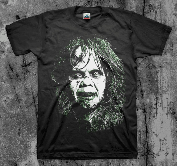 Exorcist- Face on a black shirt