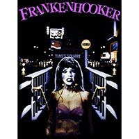 Frankenhooker- Wanna Date? on a black shirt