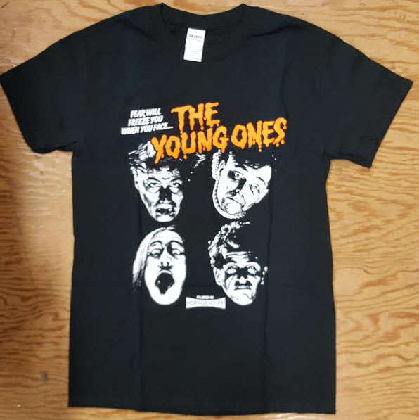 Young Ones- Fear Will Freeze You on a black shirt
