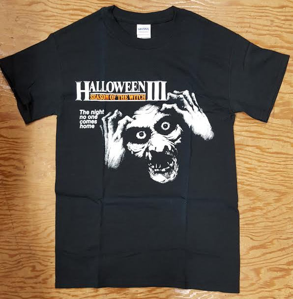 Halloween 3- Season Of The Witch on a black shirt