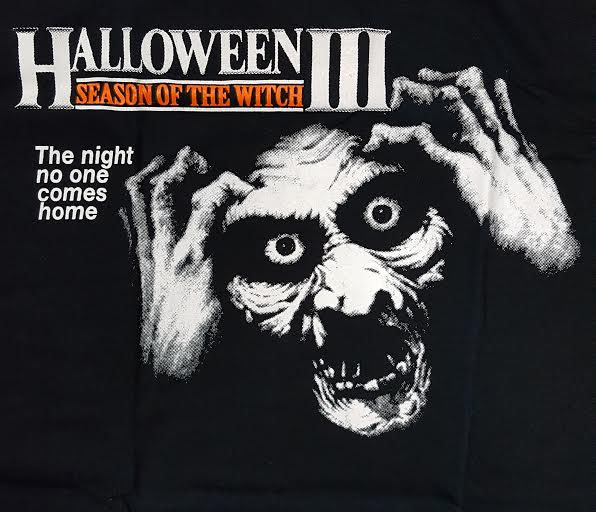 halloween 3 season of the witch on a black shirt