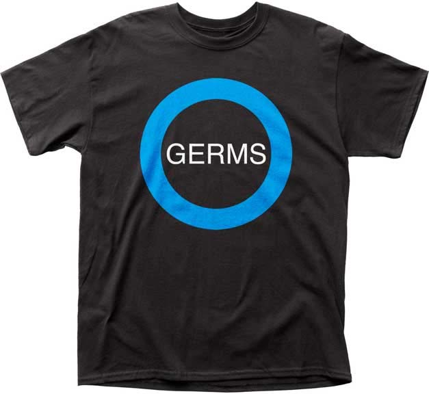 Germs- Logo on a black shirt