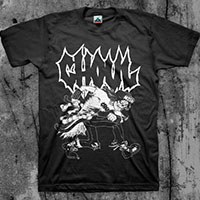 Ghoul- Mosher on a black shirt